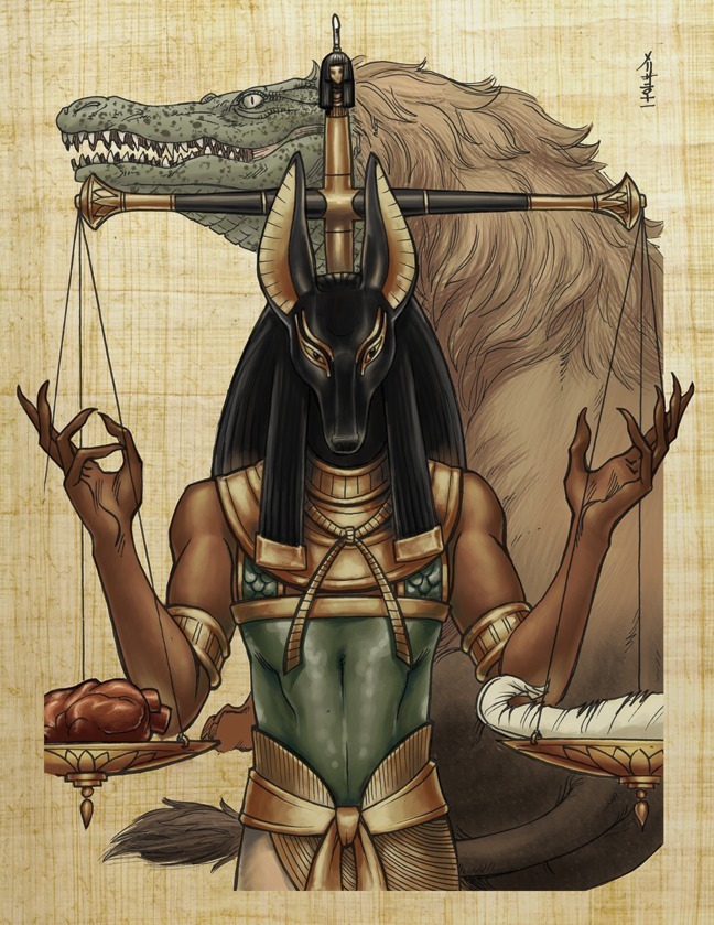 Anubis The Ethereal God